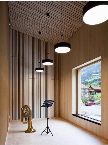Community center. Innerbraz (Austria). Architecture: Johannes Nägele #architecture #architecturalphotography #johannesnaegele #innerbraz #vorarlberg #austria