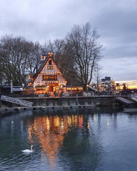 Wie schön entspannend so ein kurzer Abendspaziergang an der Bregenzer Seepromenade – mal wieder frische Luft tanken...
