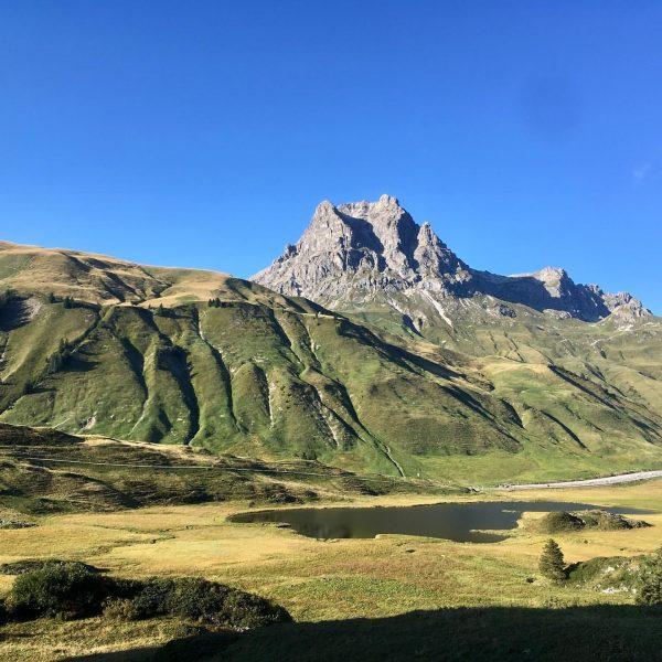 #widderstein #kalbelesee #hochtannberg #alpen #viaalpina @viaalpina #sunday #nofilter #whataview
