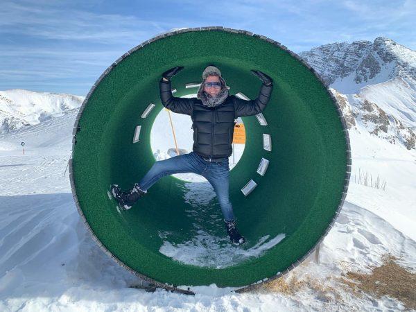 Der grüne Ring 😁 #skigebietlech #rüfikopf #rüfikopfbahn #schnee #urlaub #österreich🇦🇹 Rüfikopf 2362 m