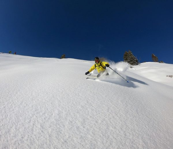 Damüls being Damüls 🥳❄️ #Alps #Austria #travel #outdoors #ski #freeski #skilife #bluebird #climb ...