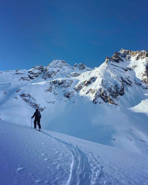 Magic of backcountry skiing ❄️🙌 #Alps #Austria #travel #outdoors #ski #freeski #skilife #powdersnow ...