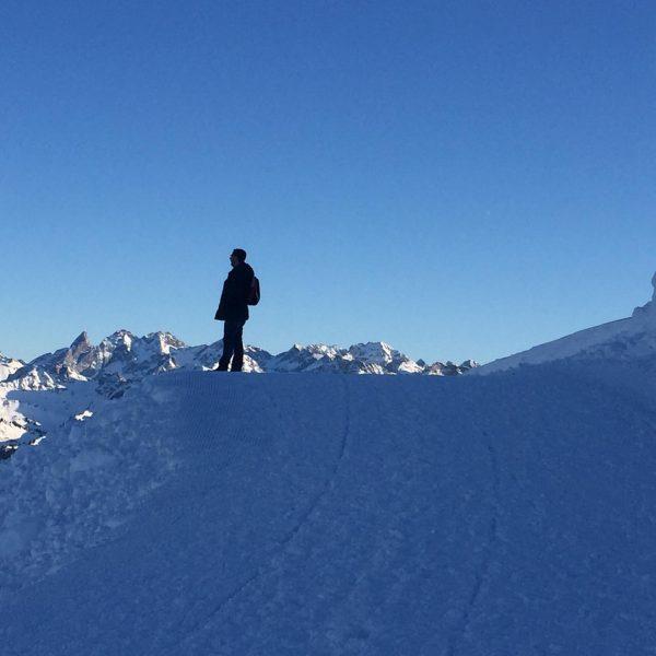 #urlaub #ifen #winter #winterwonderland #gottesacker Hoher Ifen