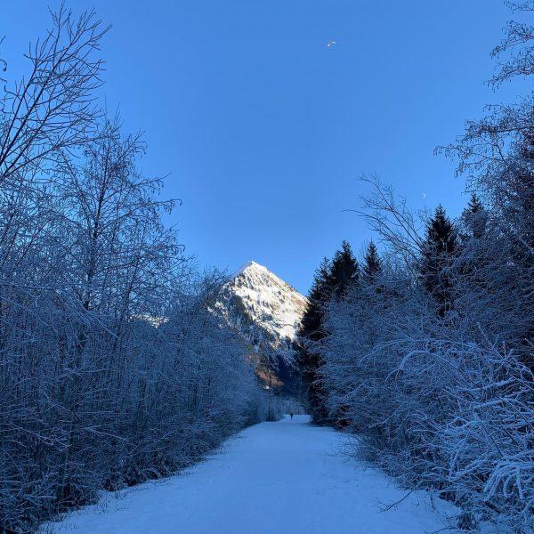 Winterwandern im Bregenzerwald. Immer wieder bezaubernd. #outdoor #urlaub #aktivurlaub #familienurlaub #abenteuer #erlebnis #aktion ...