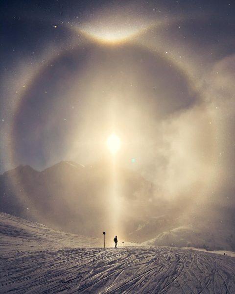 Magische Momente #lechtal #lech #rüfikopf #magisch #magie #photography #nikon #nikonfamily #bergliebe #schnee #skifahren ...