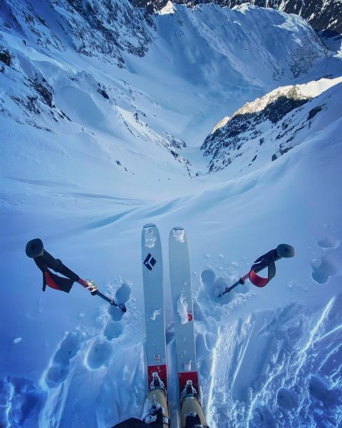 Dropping...? Maybe one day 😅 #Alps #Austria #travel #outdoors #ski #freeski #skilife #powdersnow ...