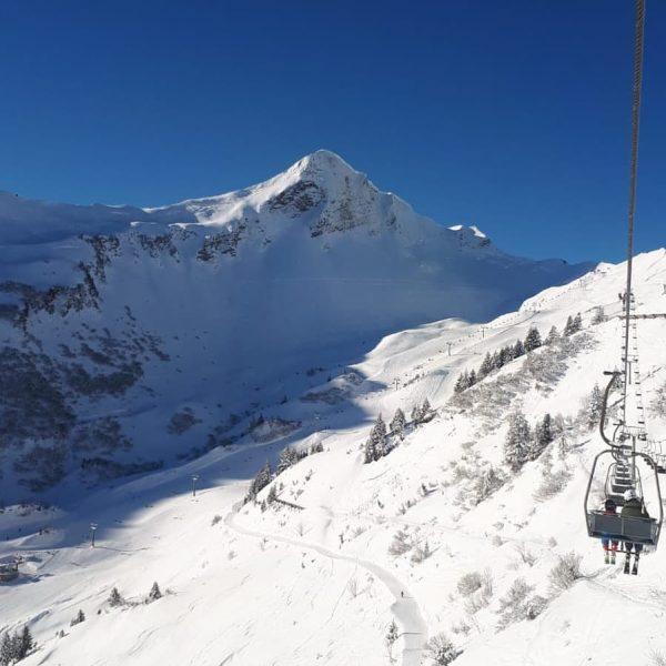 Heute wieder traumhafte Bedingungen im Skigebiet Faschina ❄️⛷️☀️ #alpenresortwalsertal #ganzoben #faschina #abaufdiepiste #nofilter ...