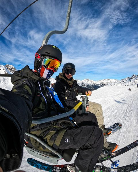 Got an awesome day in @silvrettamontafon with my buddies @stefan_hts @nolli @phschana and ...