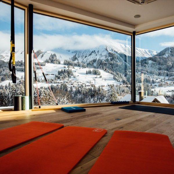 Egal ob Yoga, HIIT-Training oder gezielte Kraftübungen. 💪🏻 - Bei diesem Panorama ist ...