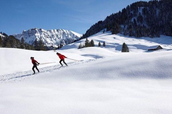 WELCOME to the #Langlauf #ElDorado! 😉 . 👉 62 km bestens präparierte LOIPE ...