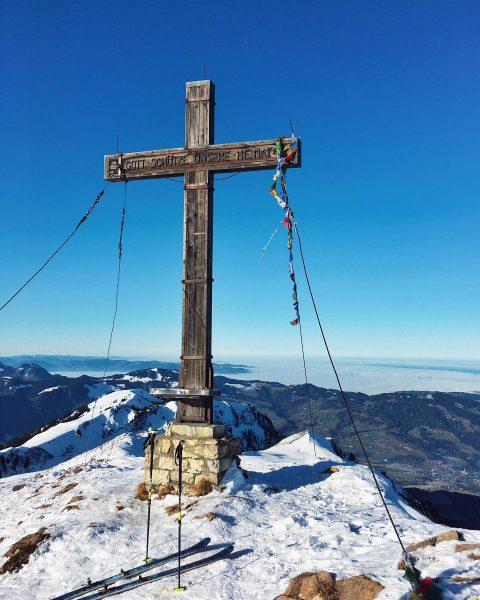 #winterstaude #skitouring #skimo #bregenzerwald #newyear #2020 #bergfinkontour Winterstaude