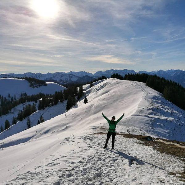 #winterwonderland #hohekugel1640m #auchohneski #aträumle #auspowern #sonnetanken #wunderschönes #vorarlberg ☀️❄️ Hohe Kugel