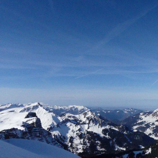 Ifen Panoramablick ➡️➡️ #berge #mountains #winter #skigebietifen #snö #schnee #snow #ifen #hoherifen #winterliebe ...