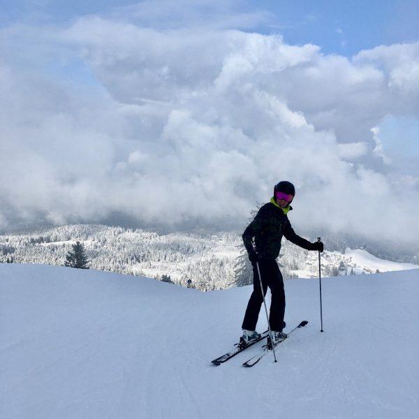 Happy Sunday #skifahren #snow #austria #meintraumtag #vorarlberg #bödele #derschneevordertür Bödele Austria