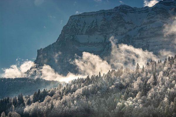 #winter #mountains #kanisfluh #bregenzerwald #visitvorarlberg #österreich🇦🇹 #berg #tres #bizau #clouds #sky #bluesky #winterlight ...