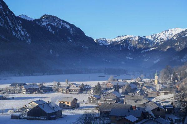 #schnepfau #bregenzerwald #vorarlberg #berge #schnee #visitvorarlberg