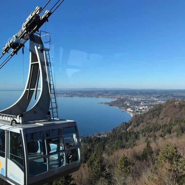 #bregenz #lochau #vorarlberg 🇦🇹 #lakeconstance #nofilter Pfänderbahn Bregenz