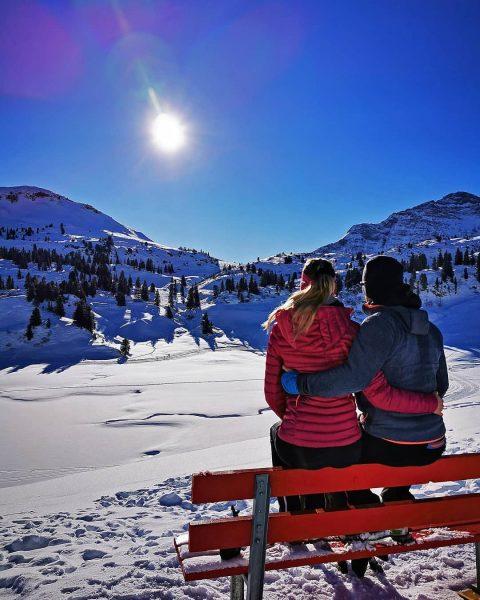 Wer es gemütlich angehen will und trotzdem eine schöne Winterlandschaft haben möchte, dann ...