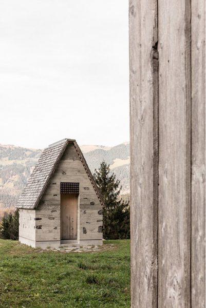 Chapel Wirmboden 2/3, Schnepfau, Austria, Innauer Matt Architekten, 2019 . . . . ...