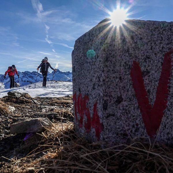 #skiridevorarlberg Finale in #gargellen. Von Deutschland/ #kleinwalsertal nach #gargellen und der Grenze zur ...