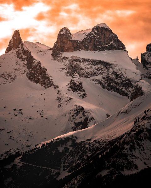 """""""Mountainart Drei Türme"""" Die spielen die Hauptrolle im Montafon und werden gerne als Wahrzeichen bezeichnet. . ...."""