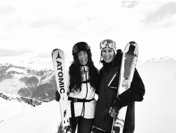 Hey Partner🦄 #montafon #silvrettamontafon #girlpower Sankt Gallenkirch, Vorarlberg, Austria
