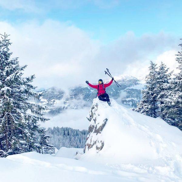 Es gibt nur einen richtigen Weg: DEINEN EIGENEN! 🙏😁 #winter #love #meintraumtag #silvrettamontafon ...