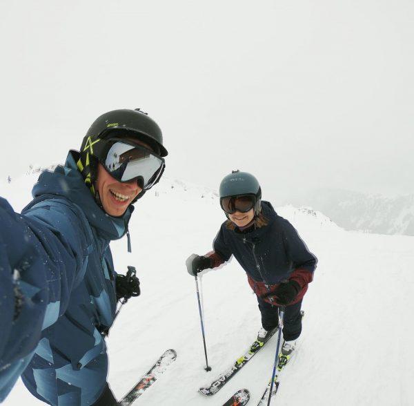 #yetanotherskiselfie ⛷ . . #silvrettamontafon #ontheslopes❄️🎿 #skiingweekend Feldkirch, Vorarlberg
