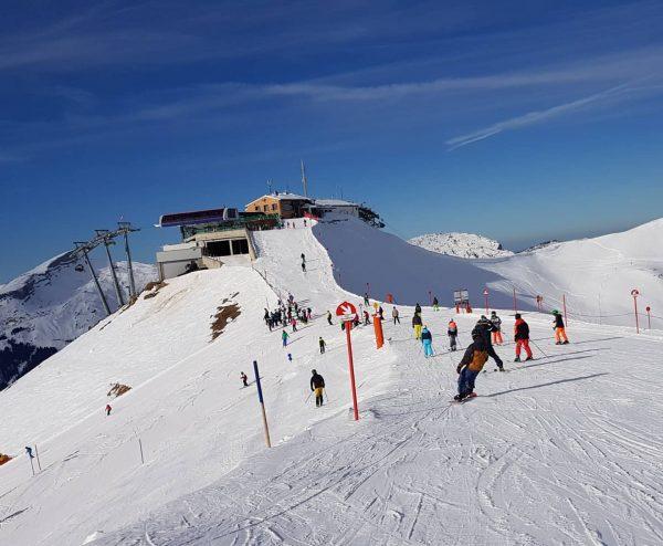 Heute am Kanzelwand #traumwetter #skiën #Kleinwalsertal #Oostenrijk #Vorarlberg #Austria #Alps #bergen #skigebied #wintersport ...