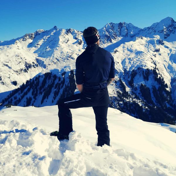 Heute eine wunderbare Skitour auf's Muttjöchle am Kristberg gemacht 😎 ▪️ #skilocal @ortovox ...