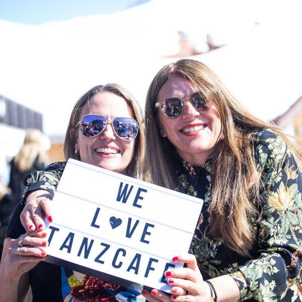 Wenn in Lech Zürs das Tanzcafé Arlberg Music Festival 🎶 angesagt ist, dann ...