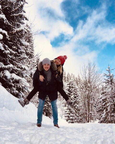🇦🇹 #hiking #mountains #snow #austria #travel #reisenmachtglücklich #mountainlove #sunshine #picoftheday #berge #österreich #kleinwalsertal ...