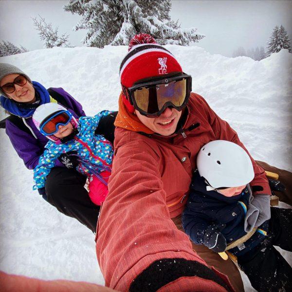 Winter is on: Viererbob Team Mangard on the way! #winter #rodla #bregenzerwald #bezau ...