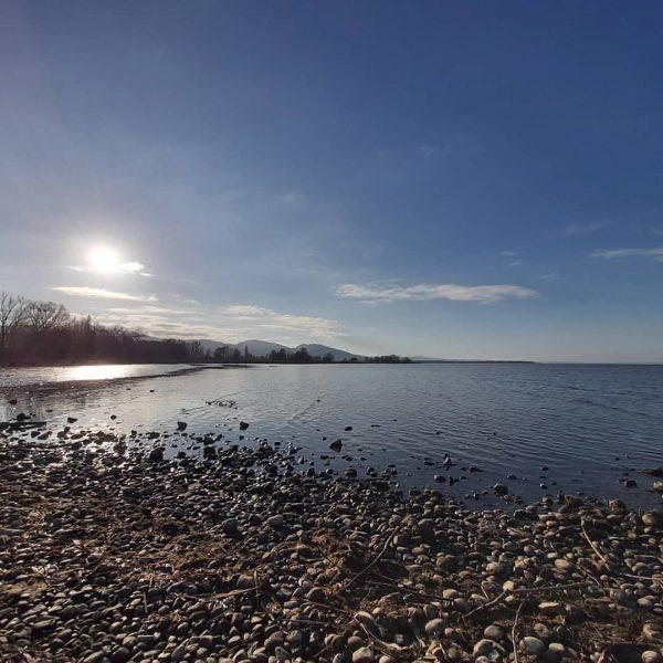 seebergesonne und der horizont #bodensee #lake #lakeofconstance RohrSpitz