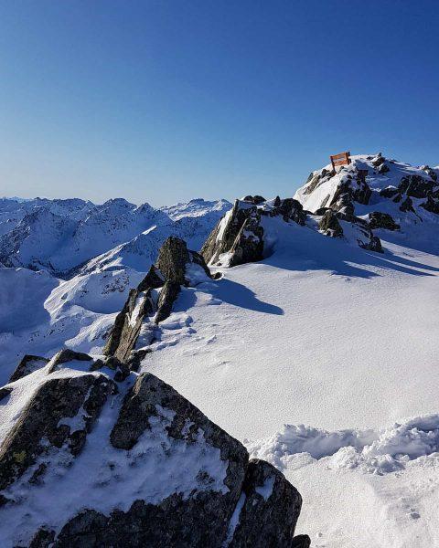Silvretta Montafon - Hochjoch . . #silvrettamontafon #hochjoch #skiing #winter #winterwonderland #mountains #mountainlove ...