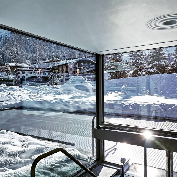 If you haven't tried out the unique spa @hotelarlberglech you better should! You ...
