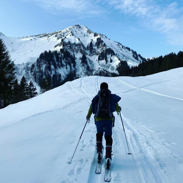 Lawinenwarnstufe 1 ausgenutzt ❄️⛷ #skitour #austria #vorarlberg #bregenzerwald #schetteregg #winterstaude #snow #landscape #beautifulnature ...