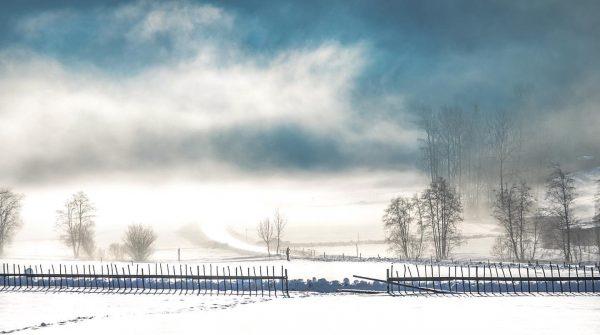 #wintermood❄️ #snowy #österreich🇦🇹 #vorarlberg bregenzerwald🌲🌲 #bizau #sky #bluesky #misticsky #winterdream #nikonphotography #nikon #beautifulday ...