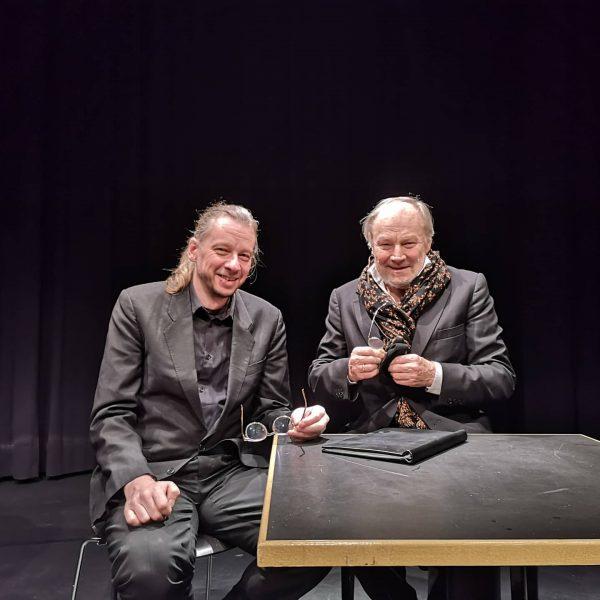Das Jahr fängt gut an: Mit #klausmariabrandauer und Pianist Arno Waschk starten wir ...