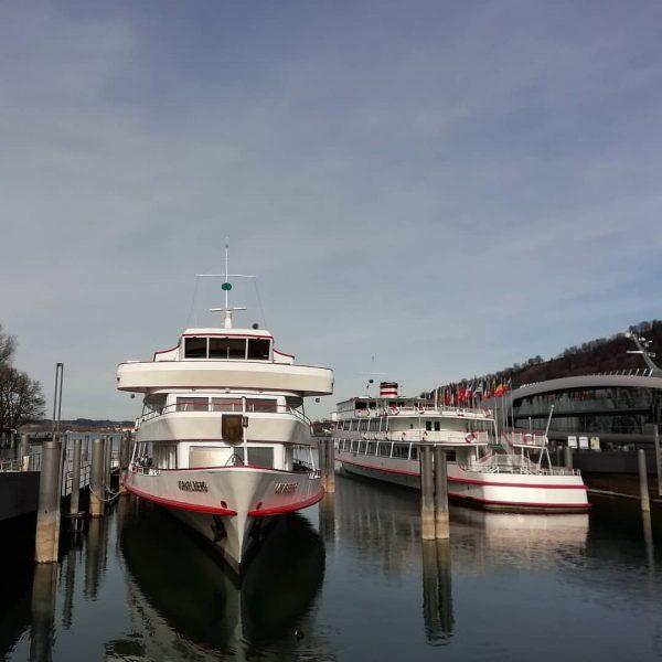 Winterschlaf der Bodenseeflotte in Bregenz #bodensee #österreich #visitvorarlberg #visitbregenz #see #lakeofconstance #vorarlberg #visitvorarlberg ...