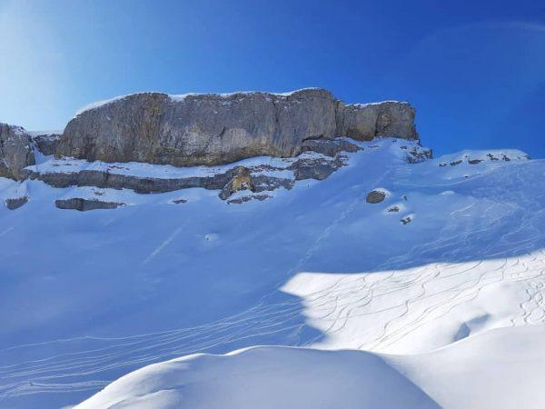 Auf dem Ifen #allgäu #kleinwalsertal #skifahren #traumwetter #wandern #berge #alpen #schnee # Hoher ...