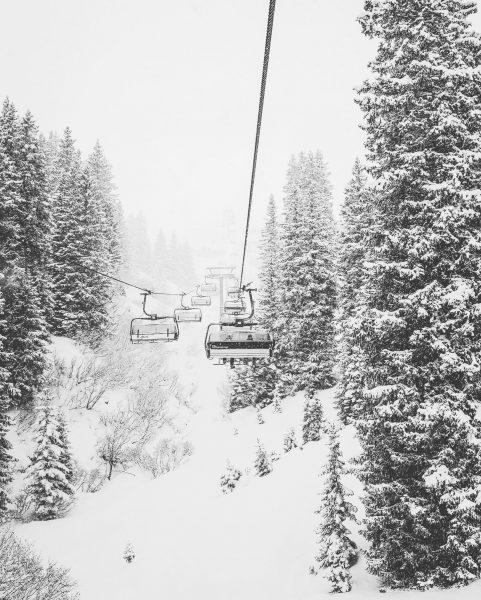 Schnee gut, Sicht nicht so sehr __________________________________________ #Arlberg #ski #skiing #snowboarding #chalet #hiking ...