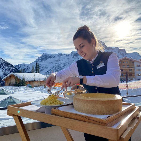 #parmesanoreggiano #lech #oberlech #burgvitalresort #foodstagram #foodlover #sunshine #austria Burg Vital Resort