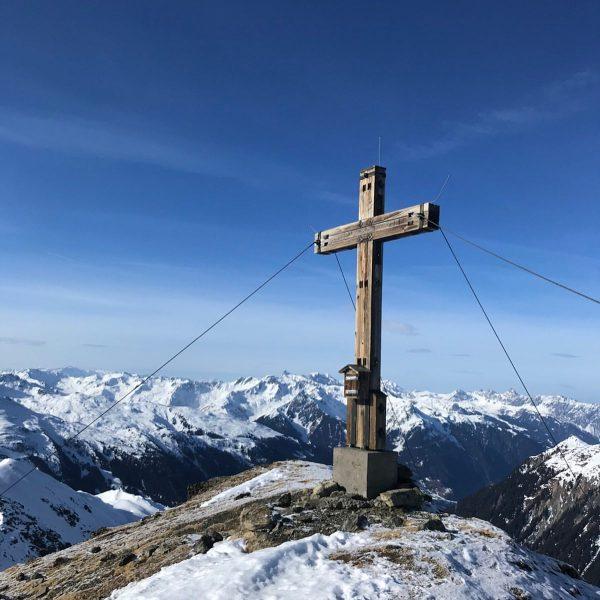 BEAUTIFUL VIEWS to the RÄTIKON ☀️☀️☀️ Skitour from Augstenberg to Versailspitz #verwallgruppe #skitouring ...
