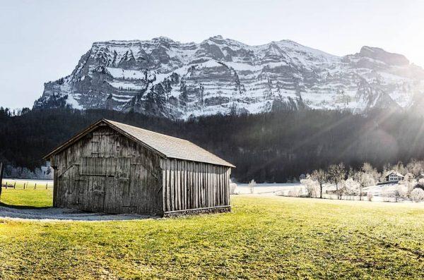 sunny winter days ❄️☀️ • • • #bregenzerwald #bizau #nature #winterdays #ländlelove #vorarlberg ...