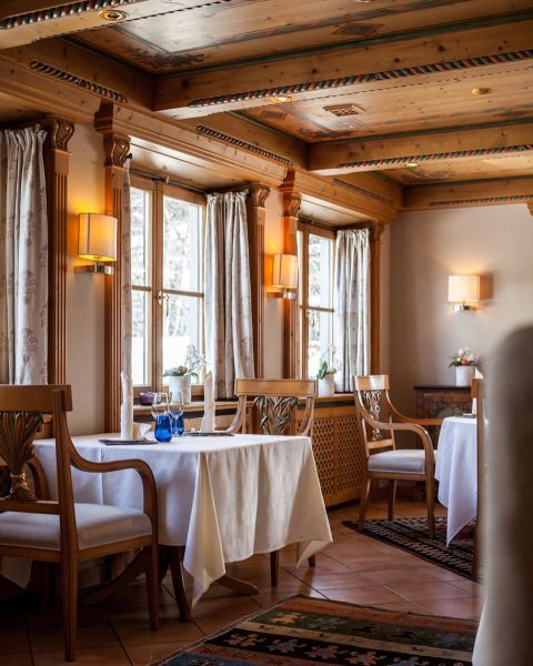 Favourite snowstorm hideout! Palate pleaser 'La Fenice' serves home-made pasta dishes, grilled seafood ...