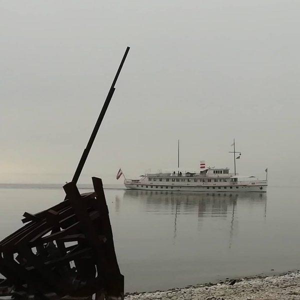 MS Österreich vor Wasserburg im Nebel #bodensee #österreich #visitvorarlberg #visitbregenz #see #lakeofconstance #bayern ...