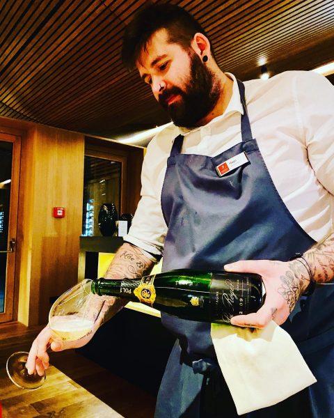 🙏🙏🙏😘😘😘🍾🍾🍾 #champagne #polrogerchampagne #polroger2009 #delicious #hotelschwärzler 😍😍