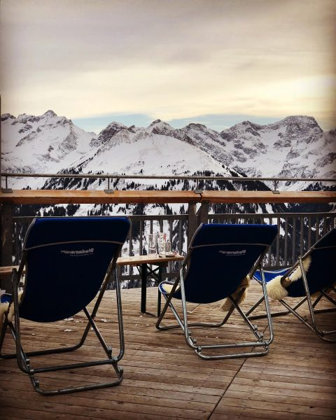 Espresso ☕️ with a 🏔 view. . . . . . . @diedamskopf ...