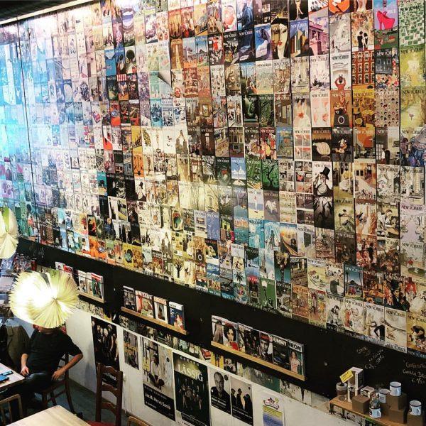 Cover Wall #bregenz #visitbregenz #vorarlberg #visitvorarlberg #cafesito #cover #wall #coverwall #thenewyorker #zeitschrift #newspaper ...